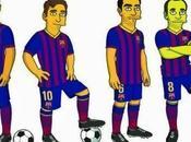 episodio Simpson aparecerán Iniesta, Neymar, Messi Xavi