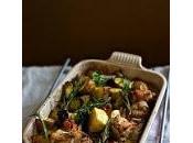#Receticas: Pollo horno vegetales.
