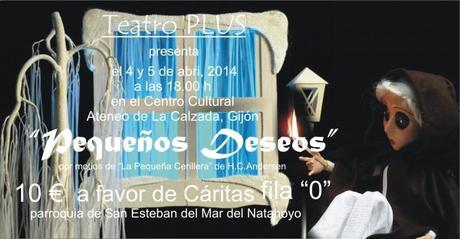 Asturias con niños a dónde vamos hoy? al teatro solidario de teatro plus pequeños deseos