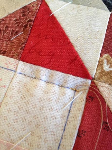 Tutorial acolchado a mano paperblog - Acolchados en patchwork ...