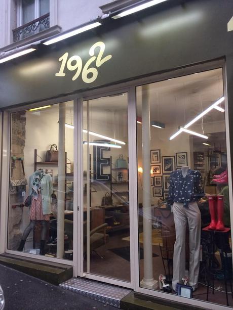 boutique 1962 in paris paperblog. Black Bedroom Furniture Sets. Home Design Ideas