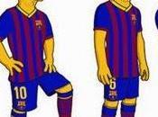 Messi, nuevo Simpson