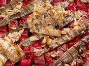 Ensalada piquillos, ventresca anchoas