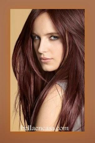 Tonos y formulas de color para lograr un cabello casta o for Tonos de colores para pared