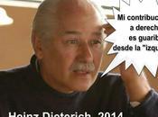 """guarimbeo """"izquierda"""" Heinz Dieterich"""