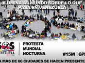 #SOSVenezuela protesta nocturna #15M