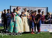 Barcelona Alevín impuso Real Madrid Fallas Ciudad Burriana