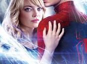 "Peter gwen, protagonistas nuevo póster internacional ""the amazing spider-man poder electro"""
