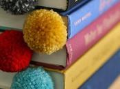 Marca páginas hechos lana
