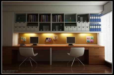 modern home office design with library 10 modern home office