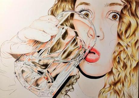 Elena G. Navarrete, dibujos fotorrealistas en A Tu Arte