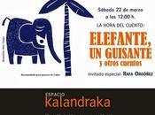 'Elefante, guisante' Rafa Ordóñez ESPACIO KALANDRAKA