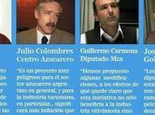 Voces cruzadas entre representantes Cuyo Proyecto Mosto para edulcorar