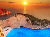 Playa Navagio. espectaculares mundo