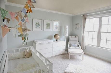 como decorar un dormitorio de beb de ikea