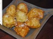 Buñuelos manzana