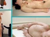 Diversas etapas maternidad escultura