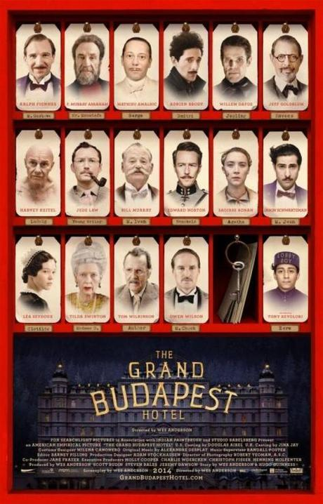 The Grand Budapest Hotel wes anderson ralph fiennes