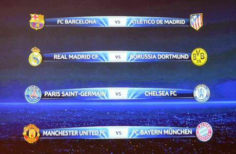 Cuartos de Final UEFA Champions League 2013/2014