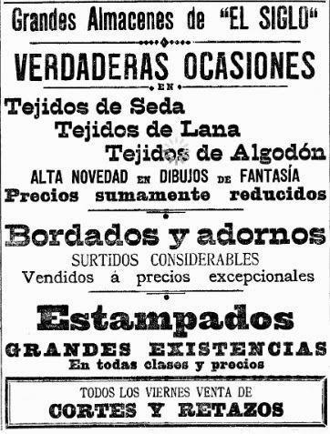 DOS JARDINES CON NOMBRE DE MUJER Y OTRAS CURIOSIDADES (II)