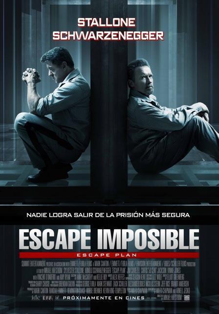 Afiche Escape Imposible