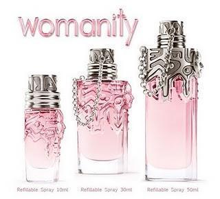 Perfume Womanity de Thierry Mugler