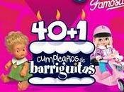 Alicante. Gran Fiesta Cumpleaños 40+1 Muñecas Barriguitas Famosa (Onil)