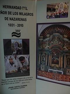 LAS CUADRILLAS DE LA HERMANDAD DEL SEÑOR DE LOS MILAGROS, ¡UNA GRAN FAMILIA!