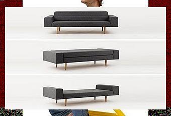 Sof cama minimalista paperblog for Busco sofa cama