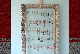 Ordenar pendientes y collares decorando paperblog - Colgadores de pendientes ...
