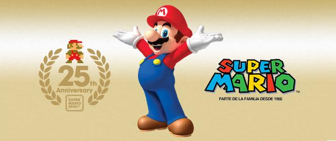 Super Mario Bros 25th Anniversary
