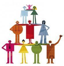 Organigramas y roles de una empresa familiar