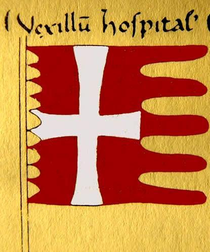 Símbolo de los Monjes-Soldado Hospitalarios