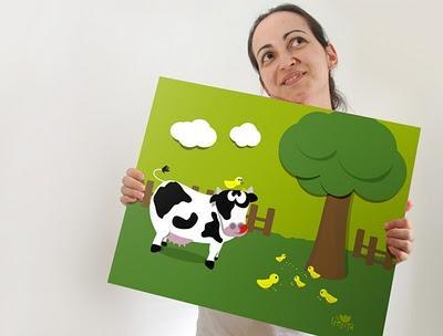 cuadros para decoracion infantil en habitaciones de niños