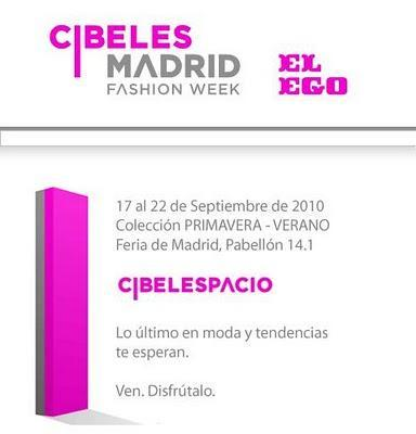 Eventos: Cibeles Fashion Week !