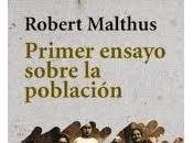 Primer ensayo sobre población, Thomas Robert Malthus