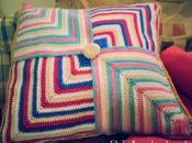 Almohadón tejido crochet