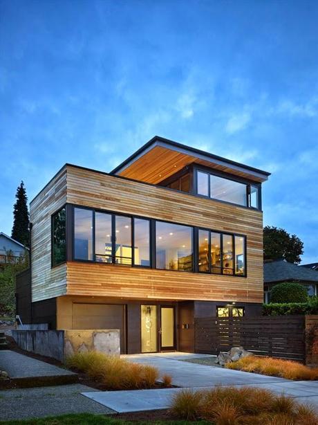 Casa moderna frente al lago paperblog for Frente casa moderna