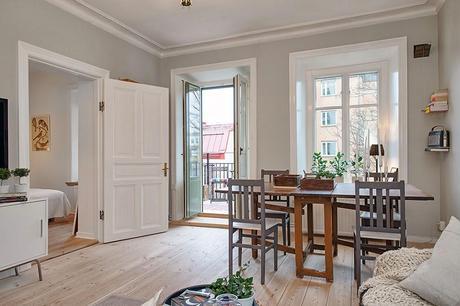 Estilo primaveral low cost en un piso de estilo n rdico paperblog - Piso estilo nordico ...