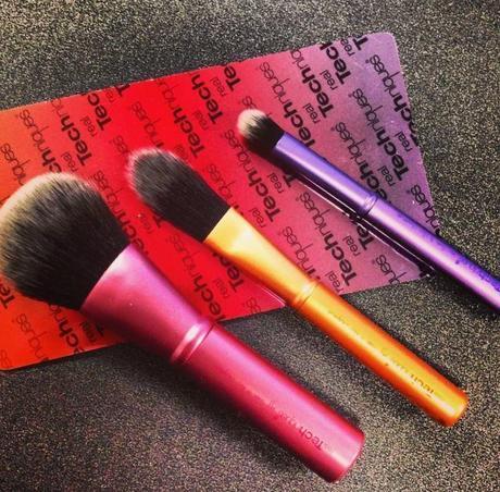 nuevas brochas REAL TECHNIQUES; mini brush trio