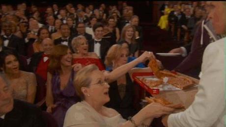 Selfies y pizzas: los mejores momentos de los Oscars 2014 (I)