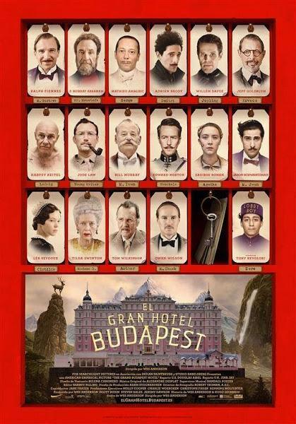 Póster: El Gran Hotel Budapest (2014)