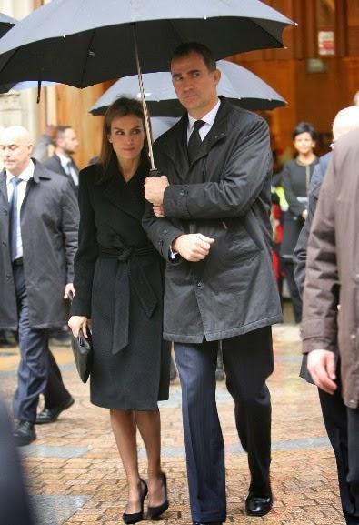 Doble día de luto para la Princesa Letizia por Iñaki Azcuna y Adolfo Suárez