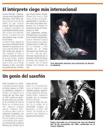 Tercera Vía del Jazz en Valencia – Introducción