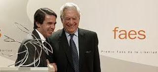 Las medallas de la vergüenza (y II): Premio de la Libertad a Vargas Llosa ¿Oro sobre conciencia?