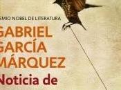 Noticia secuestro Gabriel García Márquez