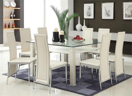 lindos comedores con sillas blancas paperblog