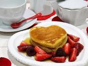 Tortitas Valentín frutas rojas sirope arce