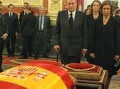 Multitudinaria despedida para expresidente español Adolfo Suárez