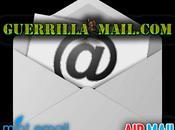 servicios para crear cuentas correo temporales anónimas